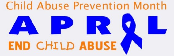 "Logo for ""Child Abuse Prevention Month"""